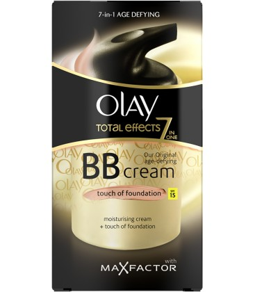 Olay Total Effects BB Cream Toque de maquillaje Intenso SPF-15 50 ml