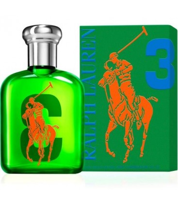Big Pony Men 3 Green edt