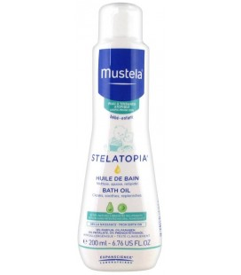 Mustela Stelatopia Bath Oil Atopic-prone Skin
