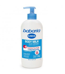 Babaria Clinical Body Milk Hydration & Protection SPF15