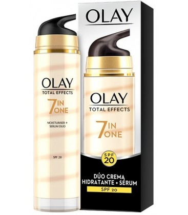 Olay Total Effects duo crème + Sérum anti-âge SPF-20
