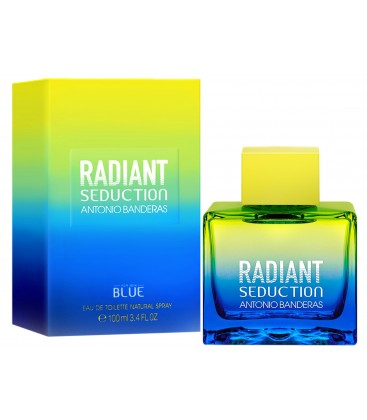 Radiant Seduction For Men Blue edt
