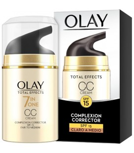 Olay Total Effects CC Cream Claro a Medio 50 ml
