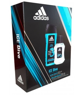 Adidas Ice Dive edt 100 ml + Gel 250 ml