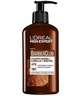 L'Oréal Men Expert BarberClub Beard Shampoo + Hair + Face