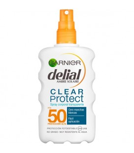 Garnier Delial Clear Protect Transparent Body Spray SPF-50