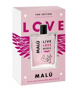 Malú Love Music edt 200 ml Fan Edition