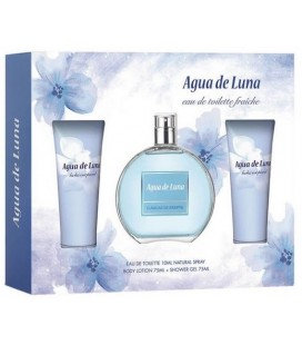 Agua de Luna edt 100 ml + Loción Corporal 75 ml + Gel 75 ml