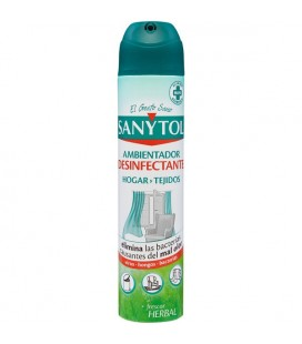 SANYTOL Disinfectant air freshener for home and fabrics