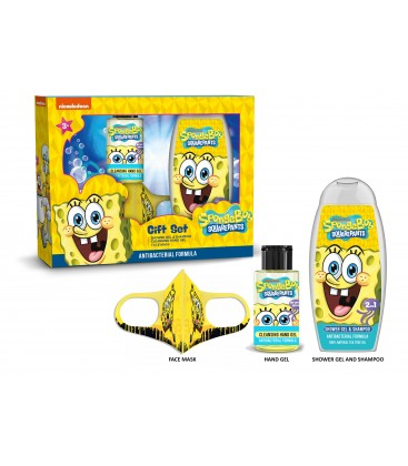 Antibacterial set for children: Sponge Bob