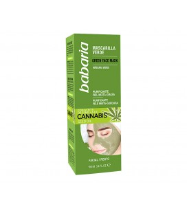 Babaria Green Facial Cannabis Mask