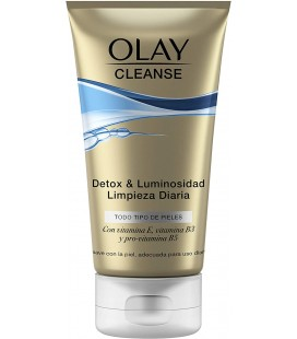 Olay Cleanse Detox & Brightening Cleanser daily cleaning