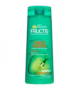 Fructis Grows Strong fortifying shampoo with ceramide and apple extract for fragile hair