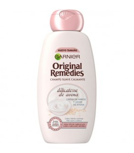 Original Remedies Gentle soothing shampoo with oatmeal cream Rice and oat milk