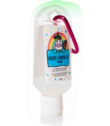 Unicorn cleansing gel for hands with sanitizing action