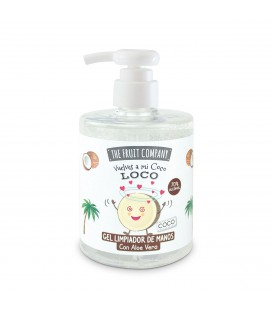 The Fruit Company Hand Cleansing Gel with dispenser 500 ml - 70% alcohol