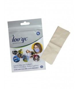 Lov'yc Reusable Anti-fog Chamois for Glasses
