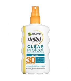 Delial Clear Protect Refresh Transparent sunscreen body spray 200ml