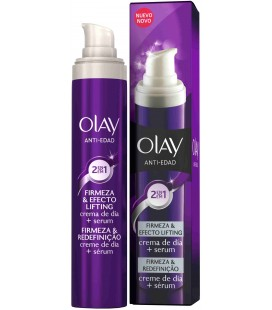 Olay Anti-edad 2 en 1 Firmeza & Efecto Lifting 50 ml