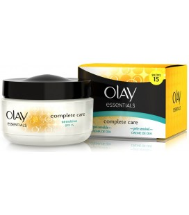 Olay Essentials Complete Care Crema Día Piel Sensible SFP15 50 ml