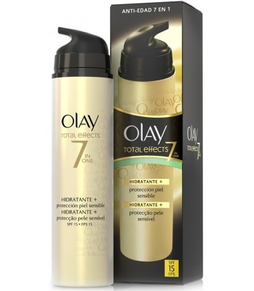 Olay Total Effects Protección Piel Sensible SPF15  50 ml