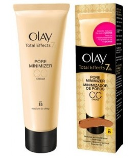 Olay Total Effects CC Cream Minimizador de Poros Claro a Medio SPF-15 50 ml