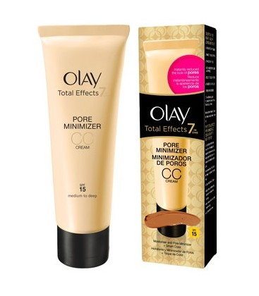Olay Total Effects CC Cream Minimizador de Poros Medio a Oscuro SPF-15  50 ml