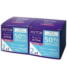 Astor Multi Active Crema Cutis Seco 2 x 50 ml