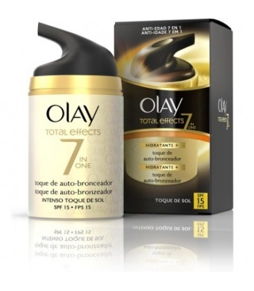 Olay Total Effects Touch of Sunshine Día Suave SPF15 50 ml