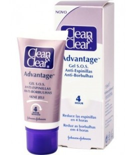 Clean & Clear Advantage Gel S.O.S. Anti-espinillas 15 ml