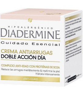 Diadermine Crema Antiarrugas Doble Accion Día 2 x 50 ml