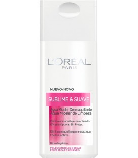 L'Oréal sublime and soft micellar water makeup removal for sensitive skin 200 ml -