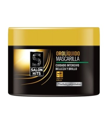 Salon Hits Oro Líquido Mascarilla 250 ml