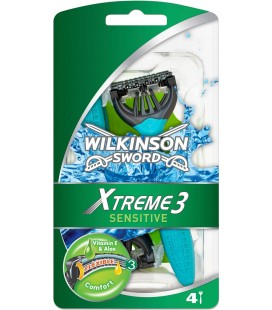 Wilkinson Xtreme 3 Sensitive Pack 4 uds