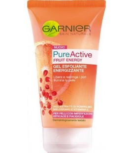 Garnier Pure Acive Fruit Energy Gel Exfoliante Energizante 150 ml